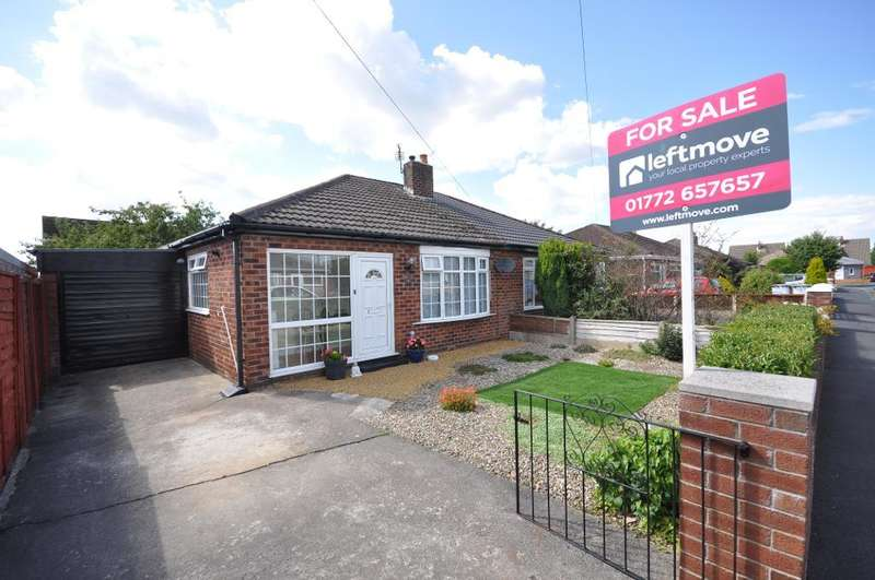 3 Bedrooms Semi Detached Bungalow for sale in Ribble Close, Freckleton, Preston, Lancashire, PR4 1RR