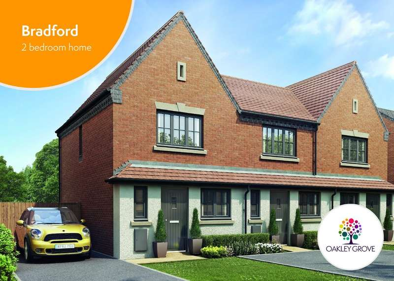 2 Bedrooms Terraced House for sale in Plot 54 Bradford Oakley Grove