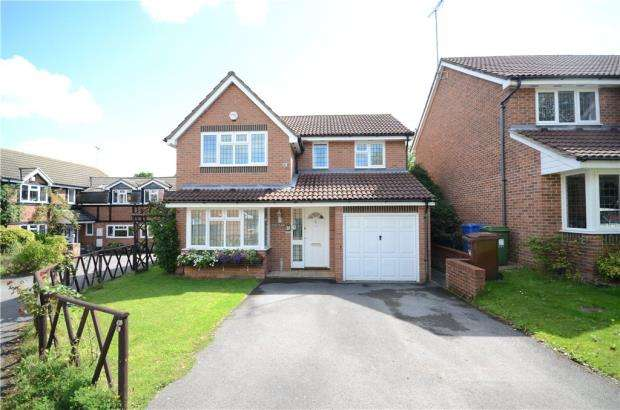 4 Bedrooms Detached House for sale in Juliet Gardens, Warfield