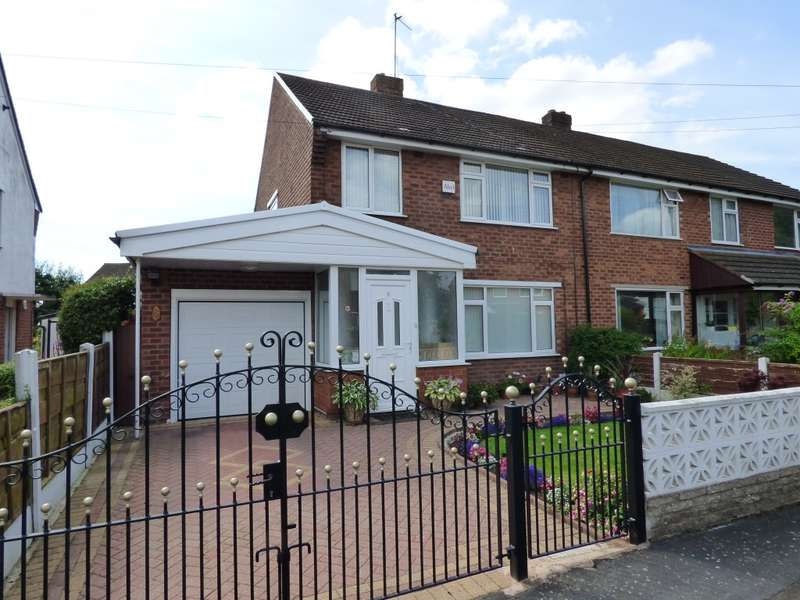 3 Bedrooms Semi Detached House for sale in Bowerfield Crescent, Hazel Grove, Stockport