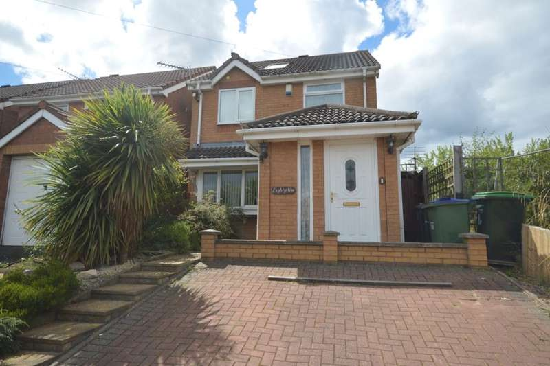4 Bedrooms Detached House for sale in Brookfield Way, Tipton, DY4