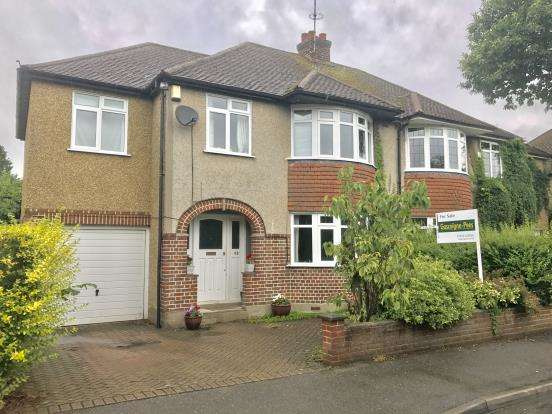 4 Bedrooms Semi Detached House for sale in Ottershaw, Chertsey, Surrey