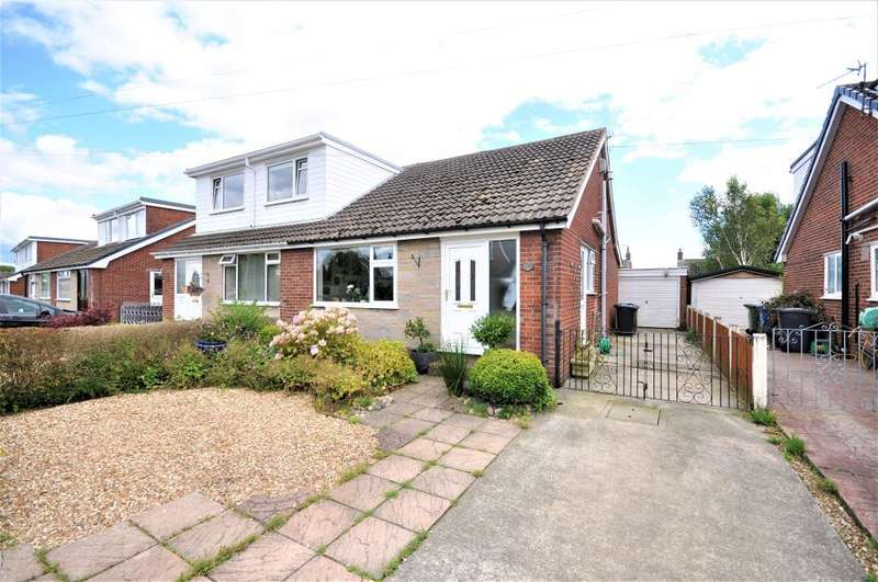 2 Bedrooms Semi Detached House for sale in Wades Croft, Freckleton, Preston, Lancashire, PR4 1SU