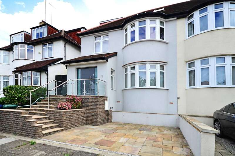6 Bedrooms Semi Detached House for sale in Hillcrest Avenue, Temple Fortune, NW11