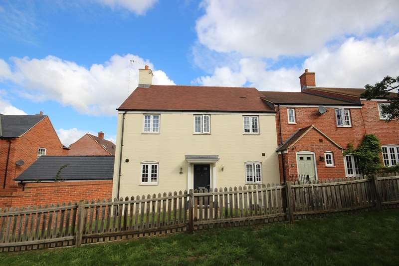 3 Bedrooms End Of Terrace House for sale in Nottingham Close, Ampthill, Bedford, MK45