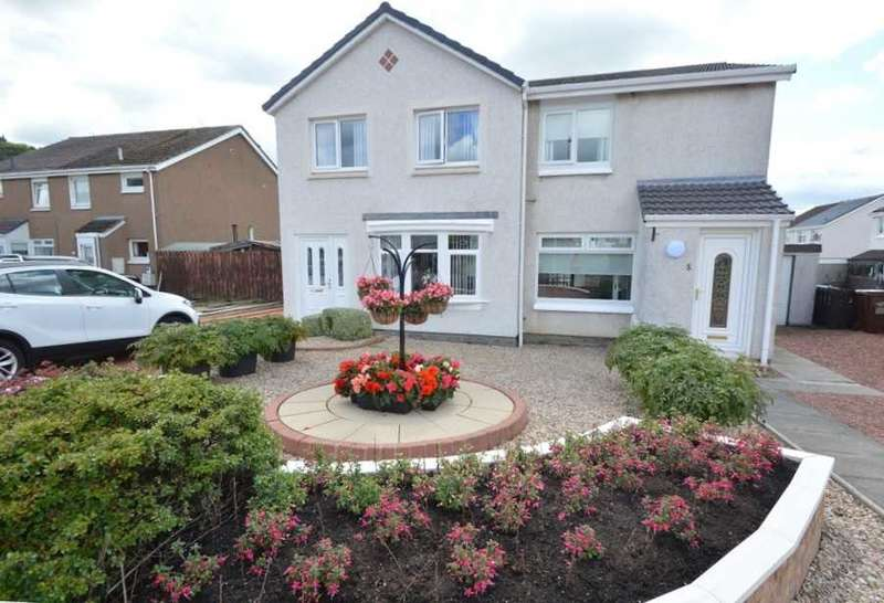 2 Bedrooms Semi Detached House for sale in Carrick Vale, Cleland