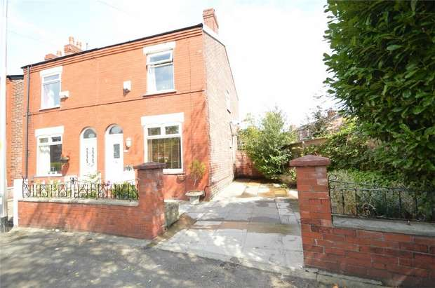 2 Bedrooms Semi Detached House for sale in Beech Road, Cale Green, Stockport, Cheshire