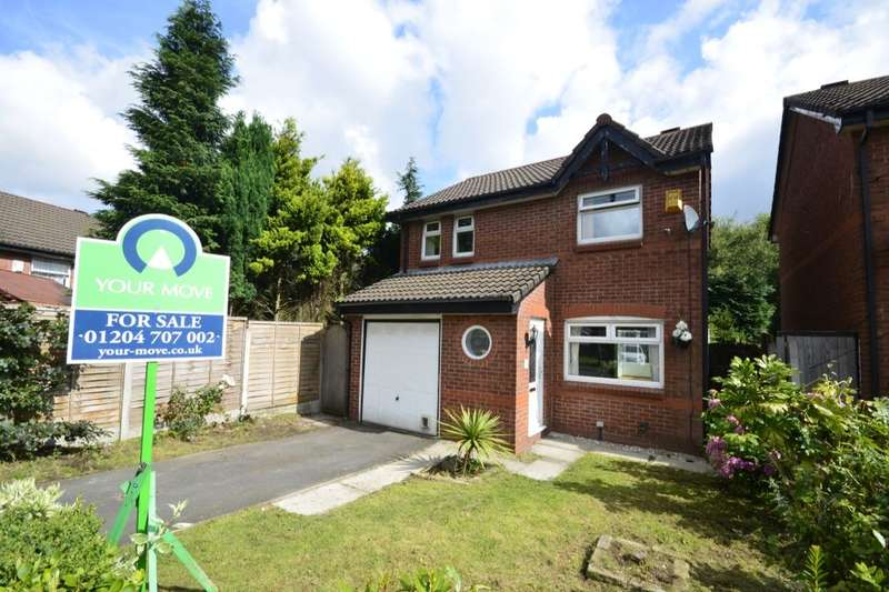 3 Bedrooms Detached House for sale in Ashby Close, Farnworth, Bolton, BL4
