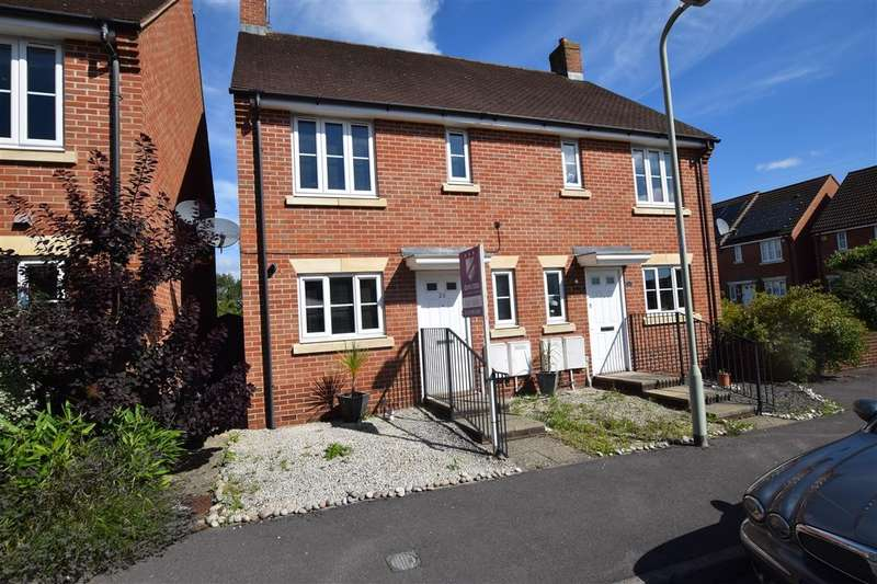 2 Bedrooms Semi Detached House for sale in Gloucester Avenue, Shinfield, Reading, RG2