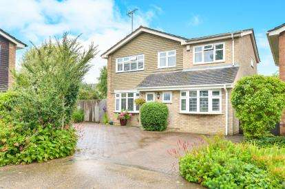 4 Bedrooms Detached House for sale in Ashridge Close, Bletchley, Milton Keynes