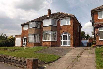 3 Bedrooms Semi Detached House for sale in Wheeley Moor Road, Kingshurt, Birmingham, West Midlands