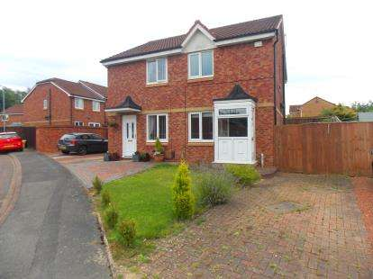 2 Bedrooms Semi Detached House for sale in Lynmouth Close, Hemlington, Middlesbrough