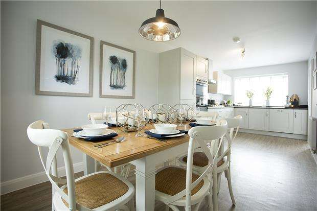 4 Bedrooms Property for sale in The Burford, Heath Rise, BRISTOL, BS30 8DD