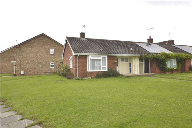 1 Bedroom Semi Detached Bungalow for sale in Ladysmith Road, CHELTENHAM, Gloucestershire, GL52 5LD