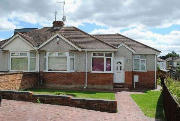 4 Bedrooms Semi Detached Bungalow for sale in Sandhills Close, Kingsthorpe, Northampton NN2 8EB