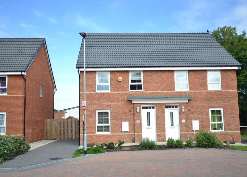 3 Bedrooms Semi Detached House for sale in Balne Mill Court, Wakefield