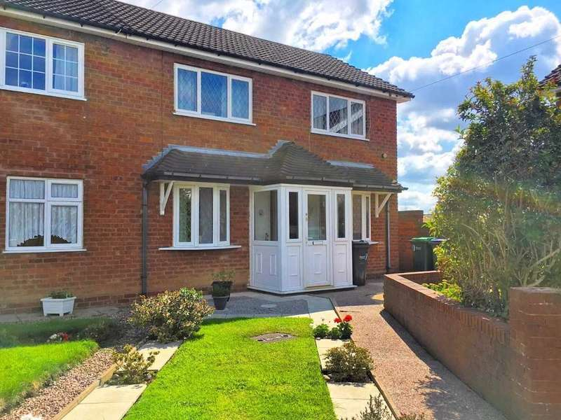 3 Bedrooms Semi Detached House for sale in AVON GROVE, WALSALL, WS5 4HQ