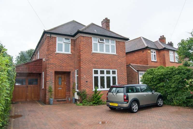 4 Bedrooms Detached House for sale in Shelburne Road, High Wycombe, Buckinghamshire, HP12