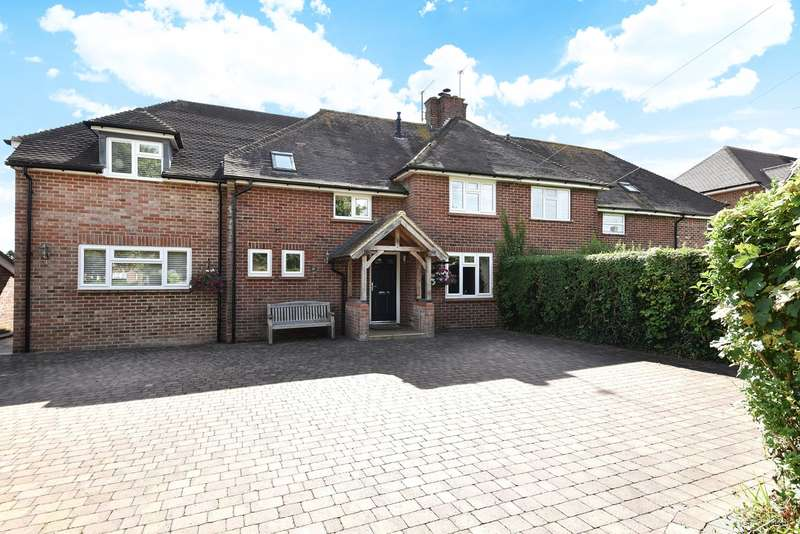 4 Bedrooms Semi Detached House for sale in Spring Close, Sherborne St John, Basingstoke, RG24