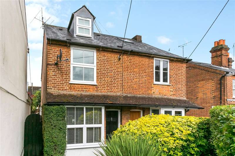 3 Bedrooms Semi Detached House for sale in Crown Road, Marlow, Buckinghamshire, SL7