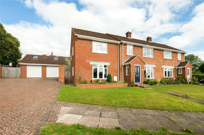 5 Bedrooms Semi Detached House for sale in Assisi Road, Salisbury, Wiltshire, SP1