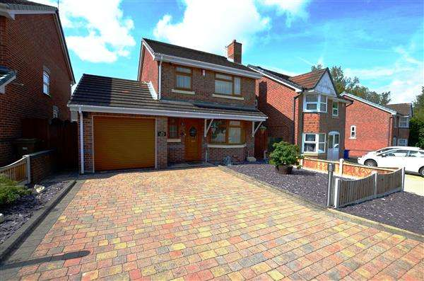 3 Bedrooms Detached House for sale in Pertonwood View, Blurton, Stoke on Trent