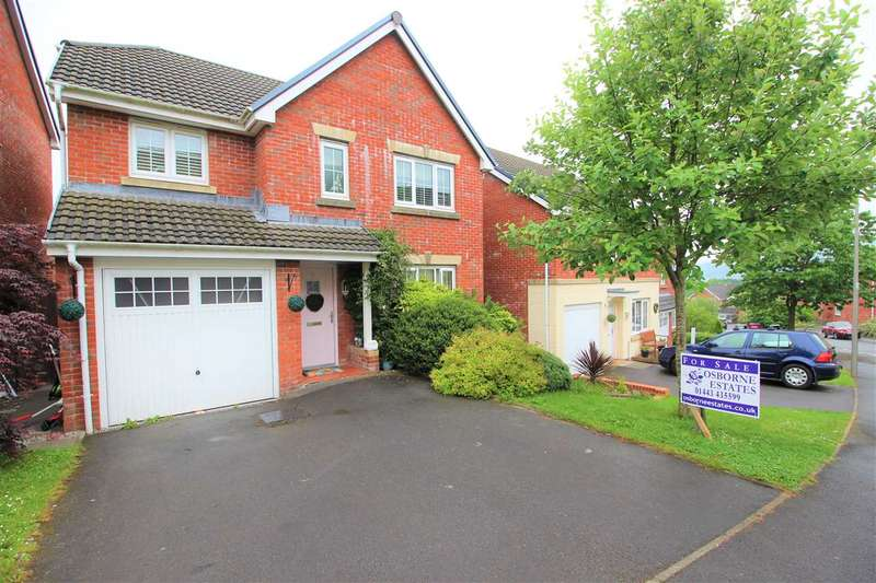4 Bedrooms Detached House for sale in Parc Gellifaelog, Tonypandy, Tonypandy