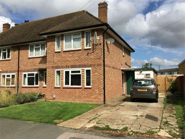 2 Bedrooms Maisonette Flat for sale in Collier Close, West Ewell