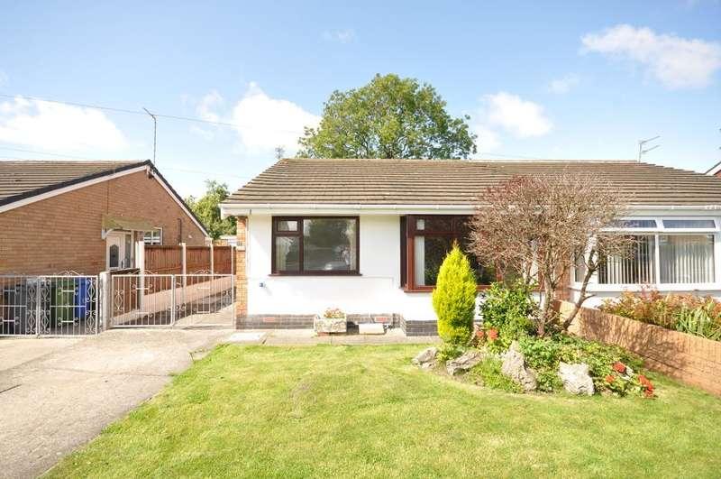 2 Bedrooms Semi Detached Bungalow for sale in Lynwood Drive, Stalmine, Poulton le Fylde, Lancashire, FY6 0PZ