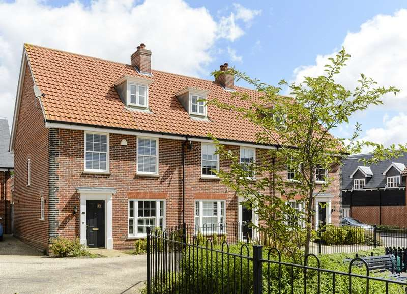 3 Bedrooms Semi Detached House for sale in Lord Nelson Drive, Norwich, Norfolk, NR5
