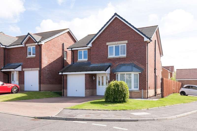 4 Bedrooms Detached House for sale in Kestrel Avenue, Dunfermline, Fife, KY11