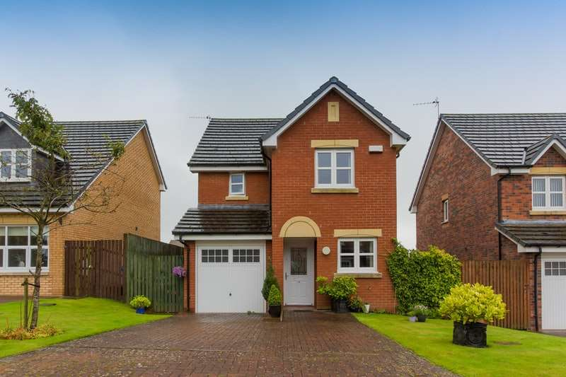 3 Bedrooms Detached House for sale in Anderson Avenue, Mauchline, Ayrshire, KA5