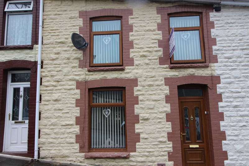 2 Bedrooms Terraced House for sale in Railway Tce, Tonypandy