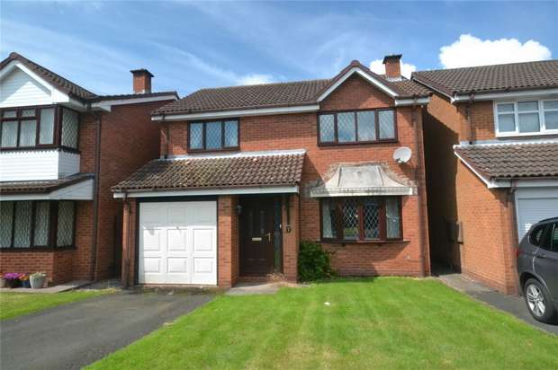 4 Bedrooms Detached House for sale in 5 Elderberry Close, The Rock, Telford, Shropshire