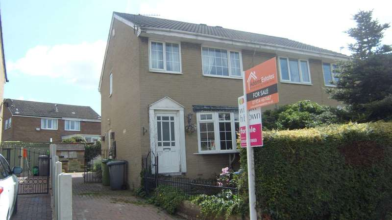 3 Bedrooms Semi Detached House for sale in Broadoak Close, Dewsbury
