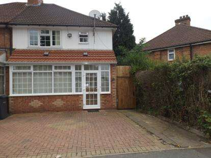 3 Bedrooms Semi Detached House for sale in Caldwell Road, Birmingham, West Midlands