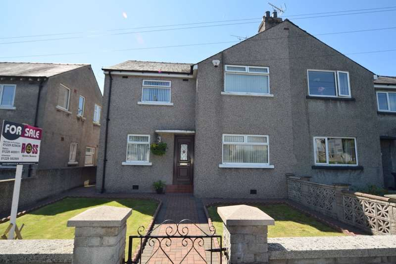 3 Bedrooms Semi Detached House for sale in Quebec Street, Ulverston, Cumbria, LA12 9AD