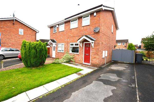 2 Bedrooms Semi Detached House for sale in Cardigan Grove, Trentham, Stoke-On-Trent