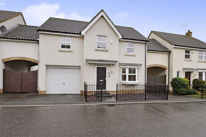 4 Bedrooms Link Detached House for sale in Old Moors, Chelmsford