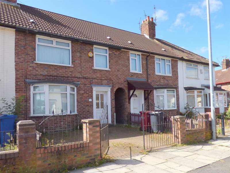 3 Bedrooms Terraced House for sale in Lincombe Road, Huyton, Liverpool