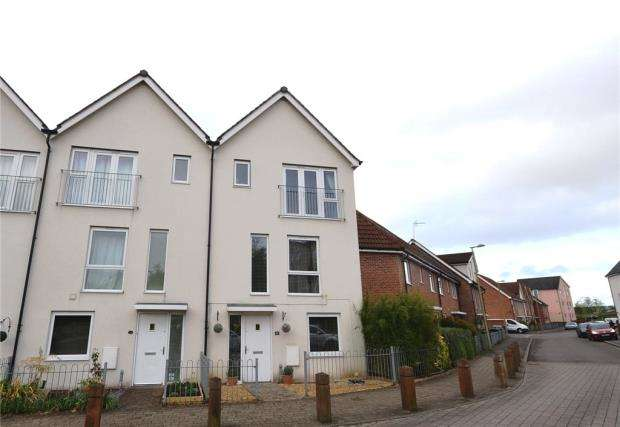 3 Bedrooms Terraced House for sale in Charlbury Lane, Basingstoke, Hampshire