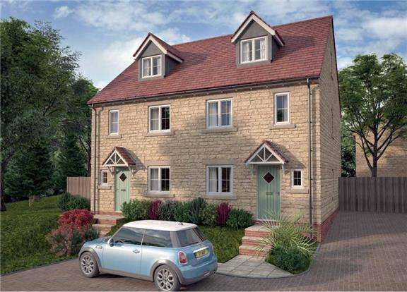 3 Bedrooms Semi Detached House for sale in The Holt, Corsham Rise, Potley Lane, CORSHAM, Wiltshire, SN13 9RX