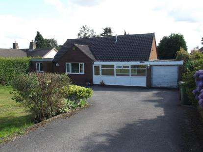 3 Bedrooms Bungalow for sale in Buds Road, Cannock Wood, Rugeley, Staffordshire