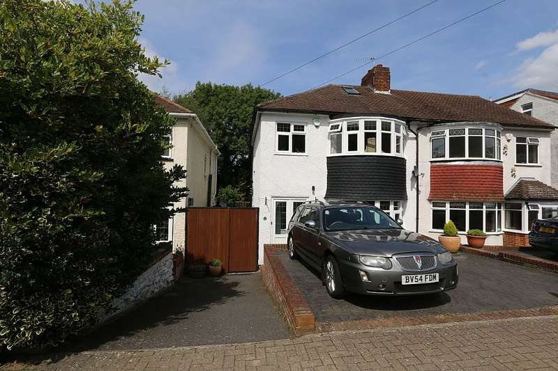 3 Bedrooms Semi Detached House for sale in Copthorne Avenue, Bromley, London, BR2 8NW
