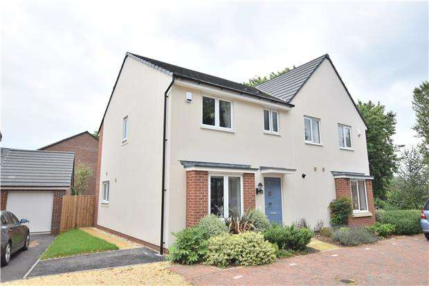 3 Bedrooms Semi Detached House for sale in Arle Road, CHELTENHAM, Gloucestershire, GL51 8LJ