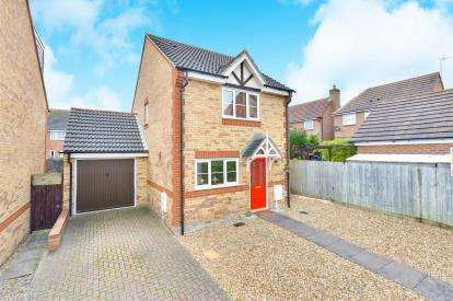 3 Bedrooms Detached House for sale in Thorpeness Croft, Tattenhoe, Milton Keynes, Buckinghamshire
