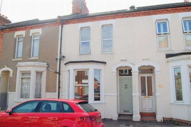 3 Bedrooms Terraced House for sale in Wycliffe Road, Abington, Northampton NN1 5JQ