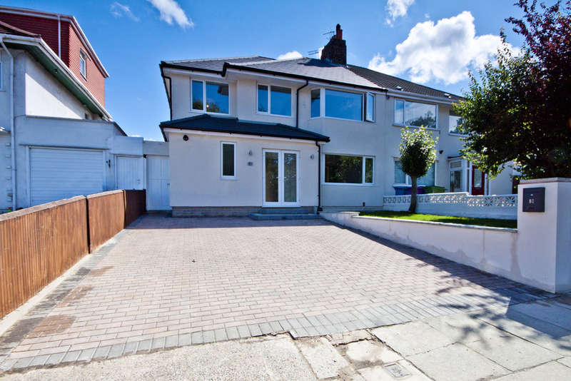 4 Bedrooms Semi Detached House for sale in Queens Drive, Liverpool