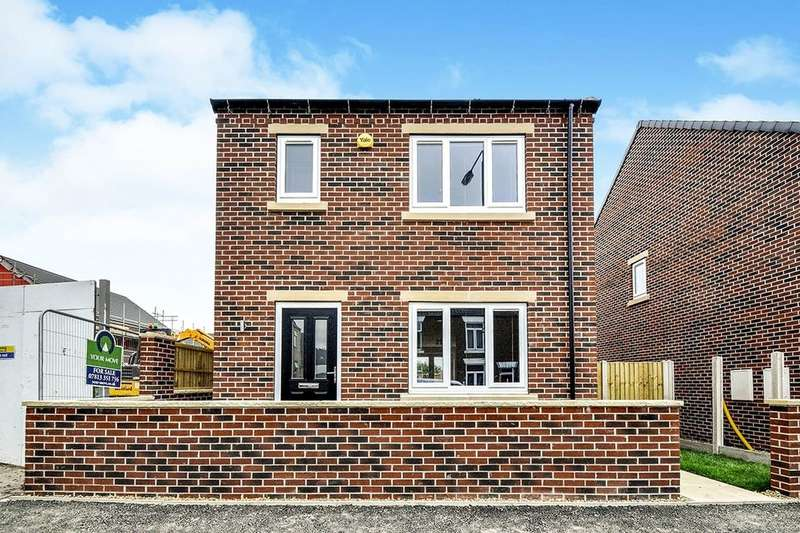 3 Bedrooms Detached House for sale in Plot Four Pilsley Road, Danesmoor, Chesterfield, S45