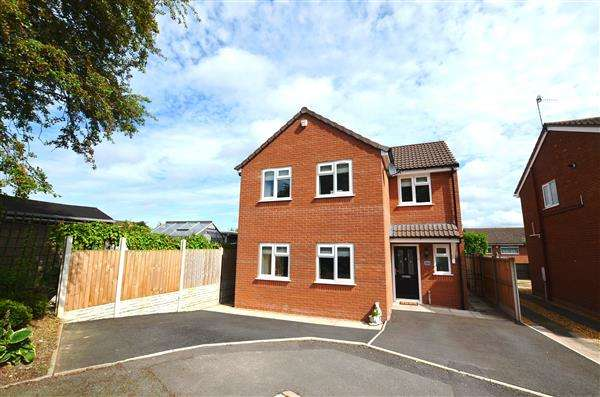 3 Bedrooms Detached House for sale in Daleview Drive, Silverdale, Newcastle